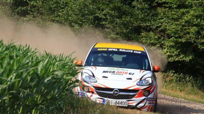 Dylan Gagniere prépare le Rallye d'Allemagne 2018