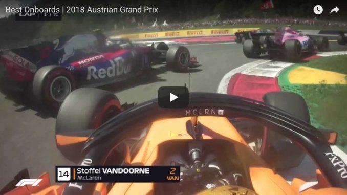 Grand Prix Autriche de F1 2018