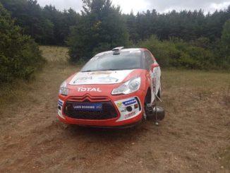 Abandons Rallye Terre de Lozère 2018
