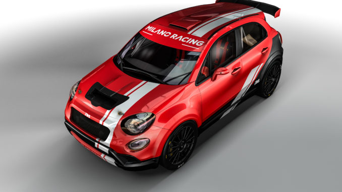 FIAT 500X R4 pour Milano Racing