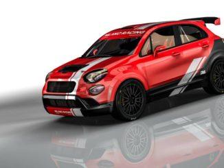 Une FIAT 500X R4 pour Milano Racing