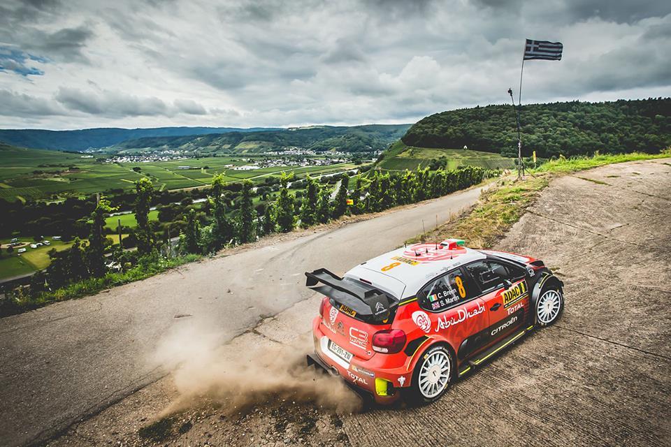 Rallye wrc allemagne 2018