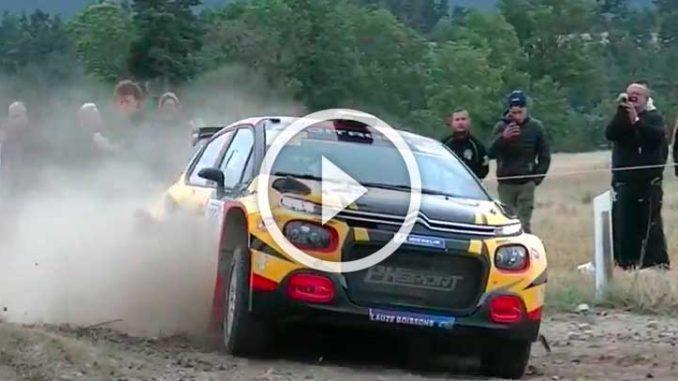 Vidéos Rallye Terre de Lozère 2018