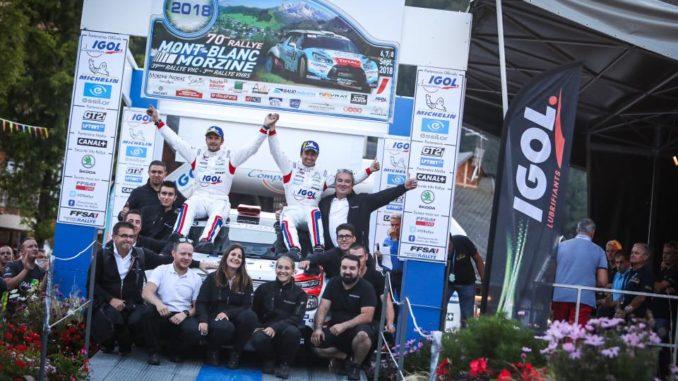 Classement Rallye Mont-Blanc 2018