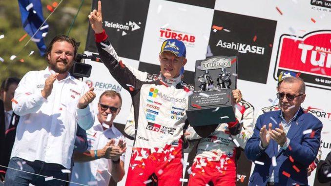 Rallye Turquie 2018 : Tanak