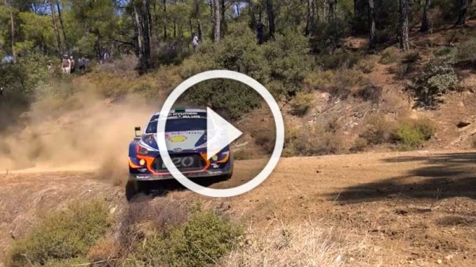 Vidéos Rallye Turquie 2018