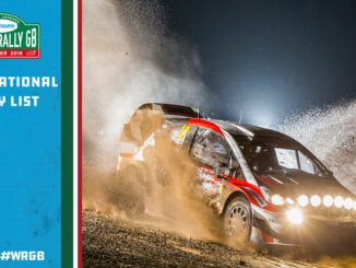 engagés Rallye Grande-Bretagne 2018