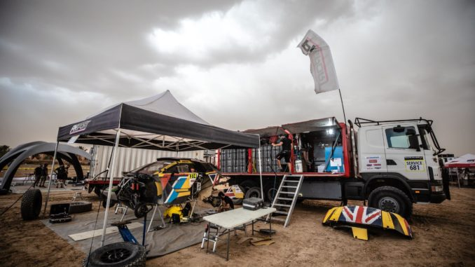 Loeb au Dakar 2019 avec PH sport en privé. (c) : PH Sport