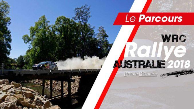 Les spéciales du Rallye Australie 2018