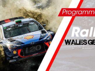 Programme TV Rallye Grande-Bretagne 2018