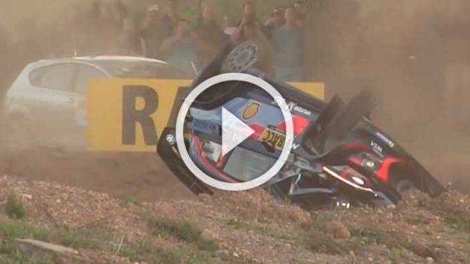 Shakedown Rallye Espagne 2018
