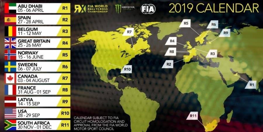 Calendrier Rallycross 2019 Championnat Du Monde.Calendrier World Rallycross 2019 Pilote De Course