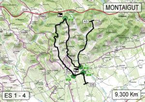 Carte Rallye des Côtes du Tarn 2018