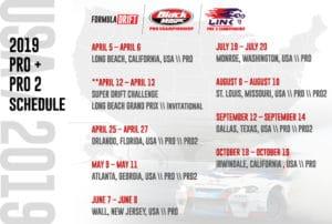 calendrier Formula Drift 2019