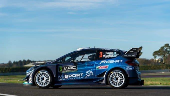 Ford Fiesta WRC M-Sport 2019