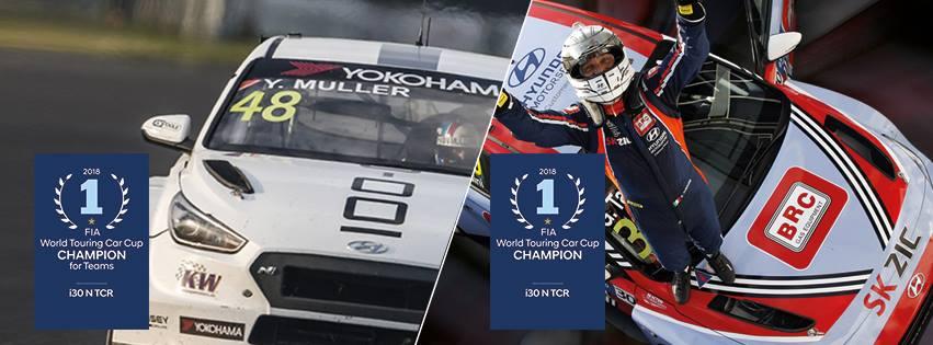 Hyundai a brillé en WTCR en 2018.