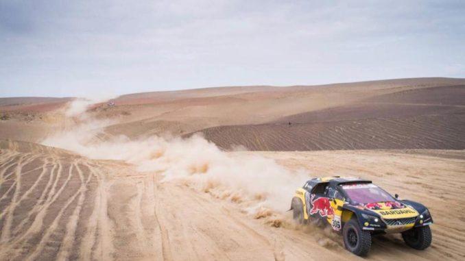 Dakar 2019 Etape 8 : Loeb persiste