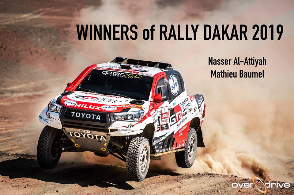 Dakar 2019 Etape 10 : Nasser Al-Attiyah