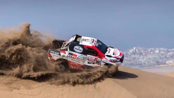 """Nasser Al-Attiyah : """"offrir la victoire à Toyota"""""""