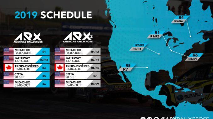 calendrier ARX 2019