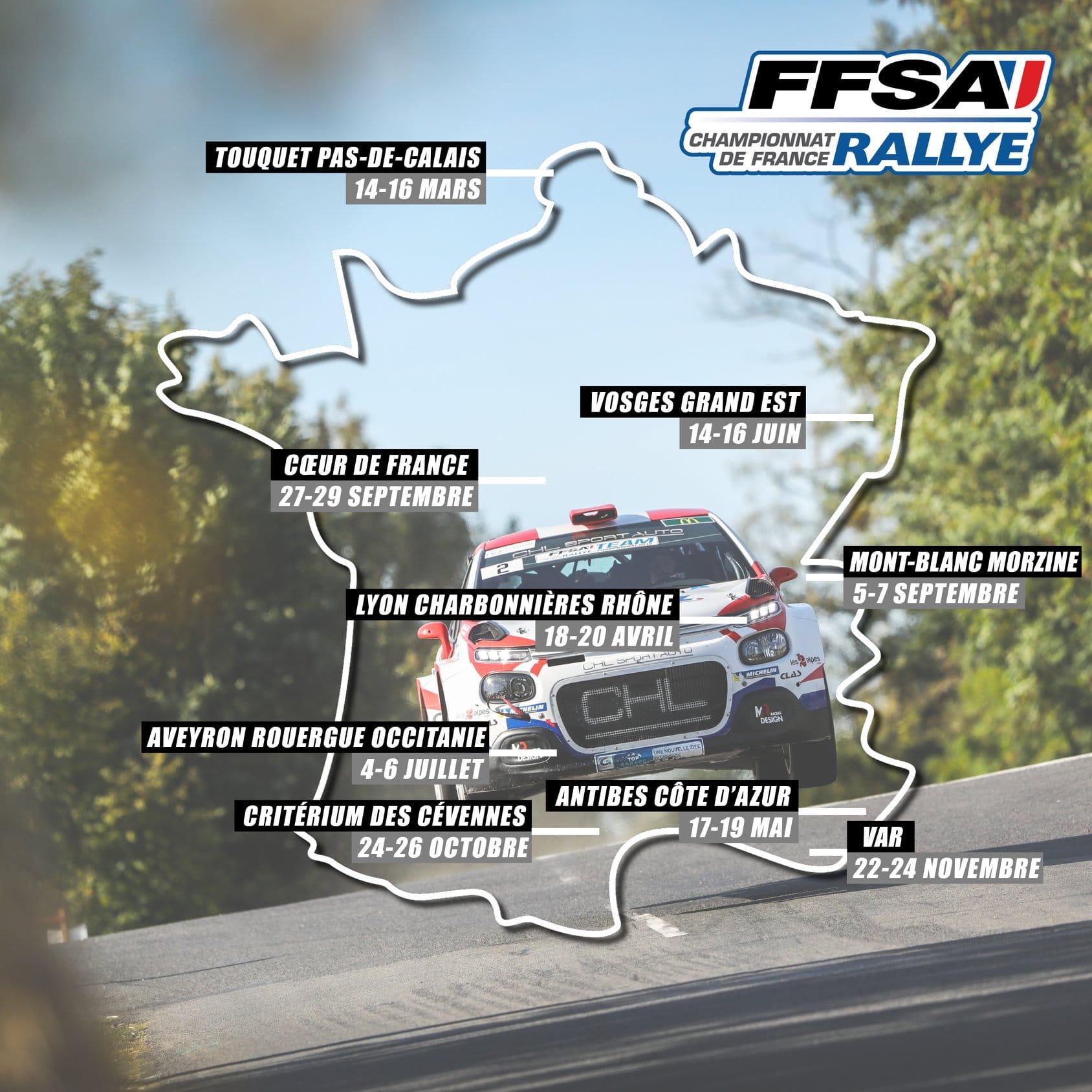 Calendrier Championnat De France Des Rallyes 2021 Calendrier Rallye   Page 2 sur 7   Pilote de Course   Rallye