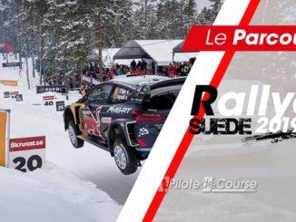 Les spéciales du Rallye de Suède 2019