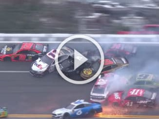 NASCAR 2019 : premier Crash
