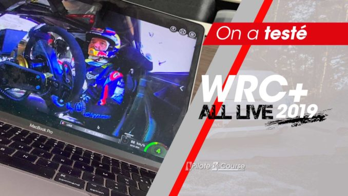 On a testé WRC+ All Live