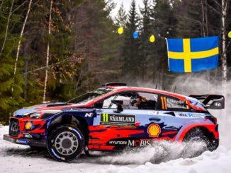 Shakedown Rallye Suède 2019 : Neuville