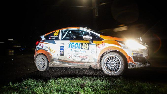 Hugo Margaillan et Sébastien Poujol - Rallye du Touquet 2019.