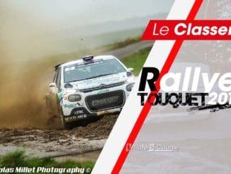 Classement Rallye du Touquet 2019