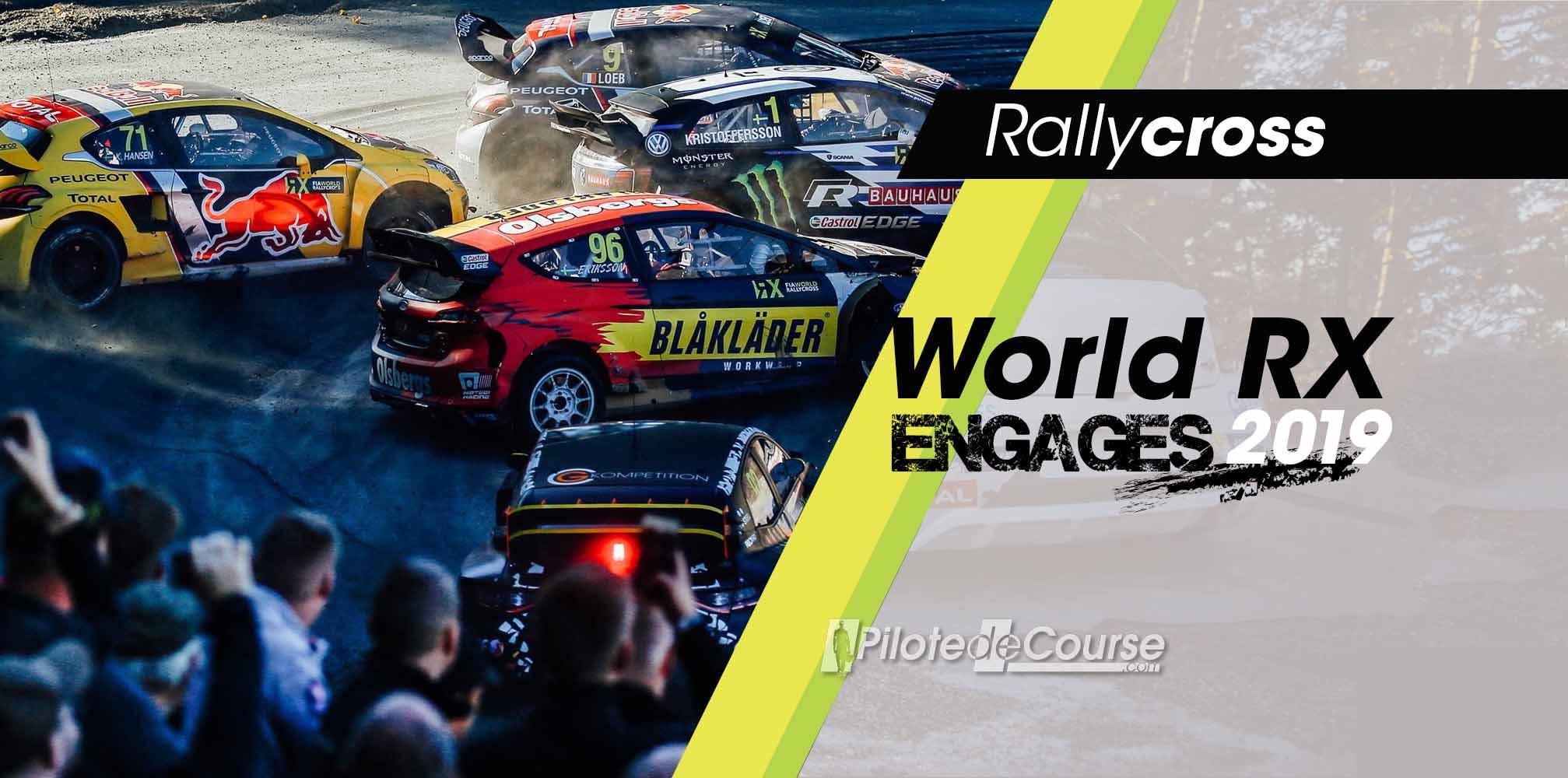Calendrier Rallycross 2019 Championnat Du Monde.Engages World Rallycross 2019 Pilote De Course