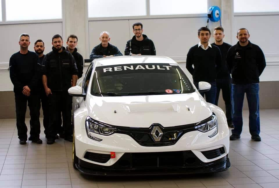 John Filippi et le Team Vukovic Motorsport en TCR Europe.