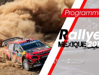 Programme TV Rallye du Mexique 2019