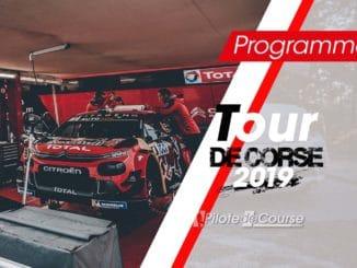 Programme TV du Tour de Corse 2019