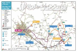 carte rallye mexique 2019 etape 1