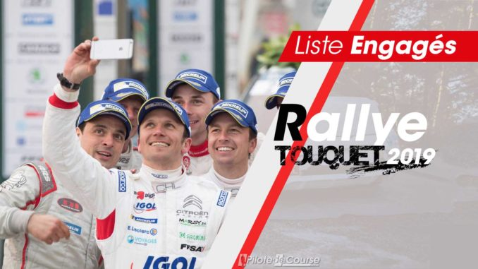 engagés Rallye du Touquet 2019