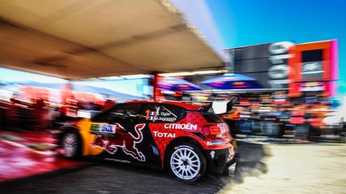 Sébastien Ogier :«remporter ce rallye pour la première fois»