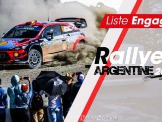Engagés Rallye Argentine 2019