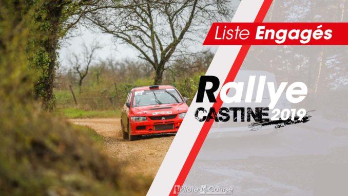 Engagés Rallye Castine 2019