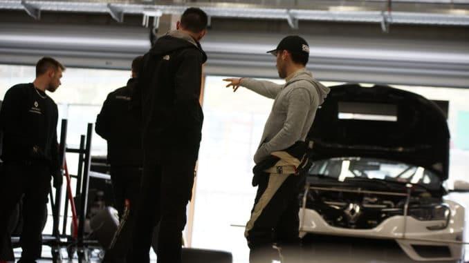 Debuts de la Renault Mégane en TCR Europe