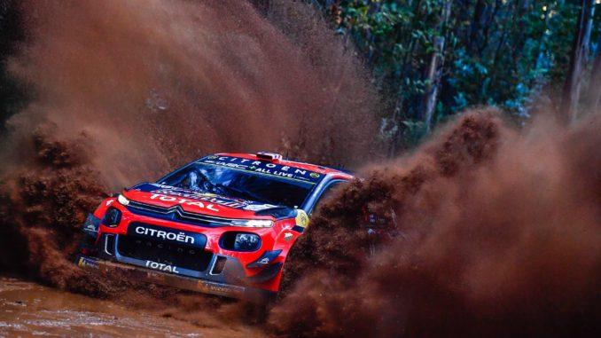Calendrier Rallye 2019