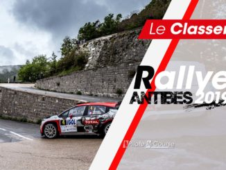 Classement Rallye Antibes 2019