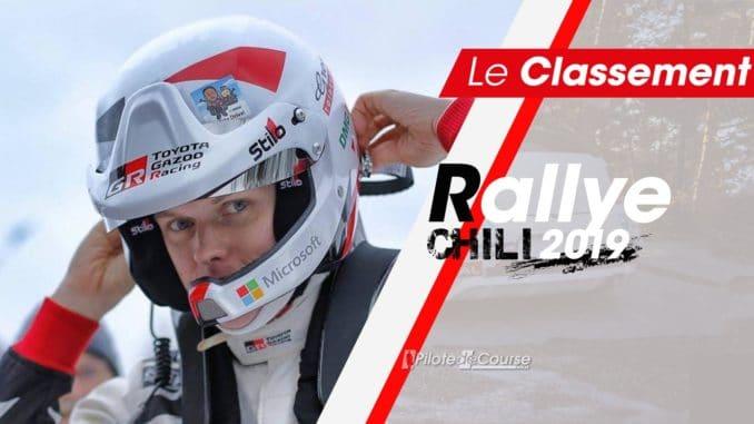 Classement Rallye Chili 2019