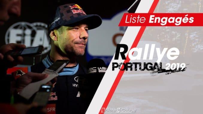 Engagés Rallye Portugal 2019
