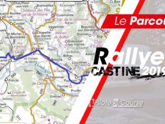 Les spéciales du Rallye Castine 2019