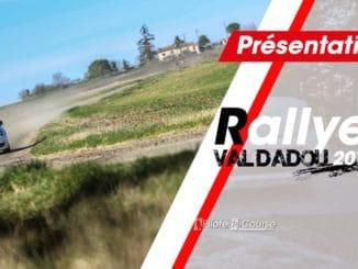 Presentation rallye val dadou 2019
