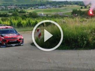 Camilli teste la Citroën C3 WRC
