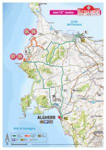 Carte Rallye Sardaigne 2019 Dimanche