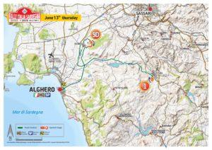 Carte Rallye Sardaigne 2019 Jeudi